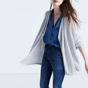 Madewell | Seabank Cardigan Sweater Boxy Dolman